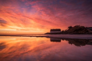 Laytown-Reflections-sunrise-landscape-photography-ireland