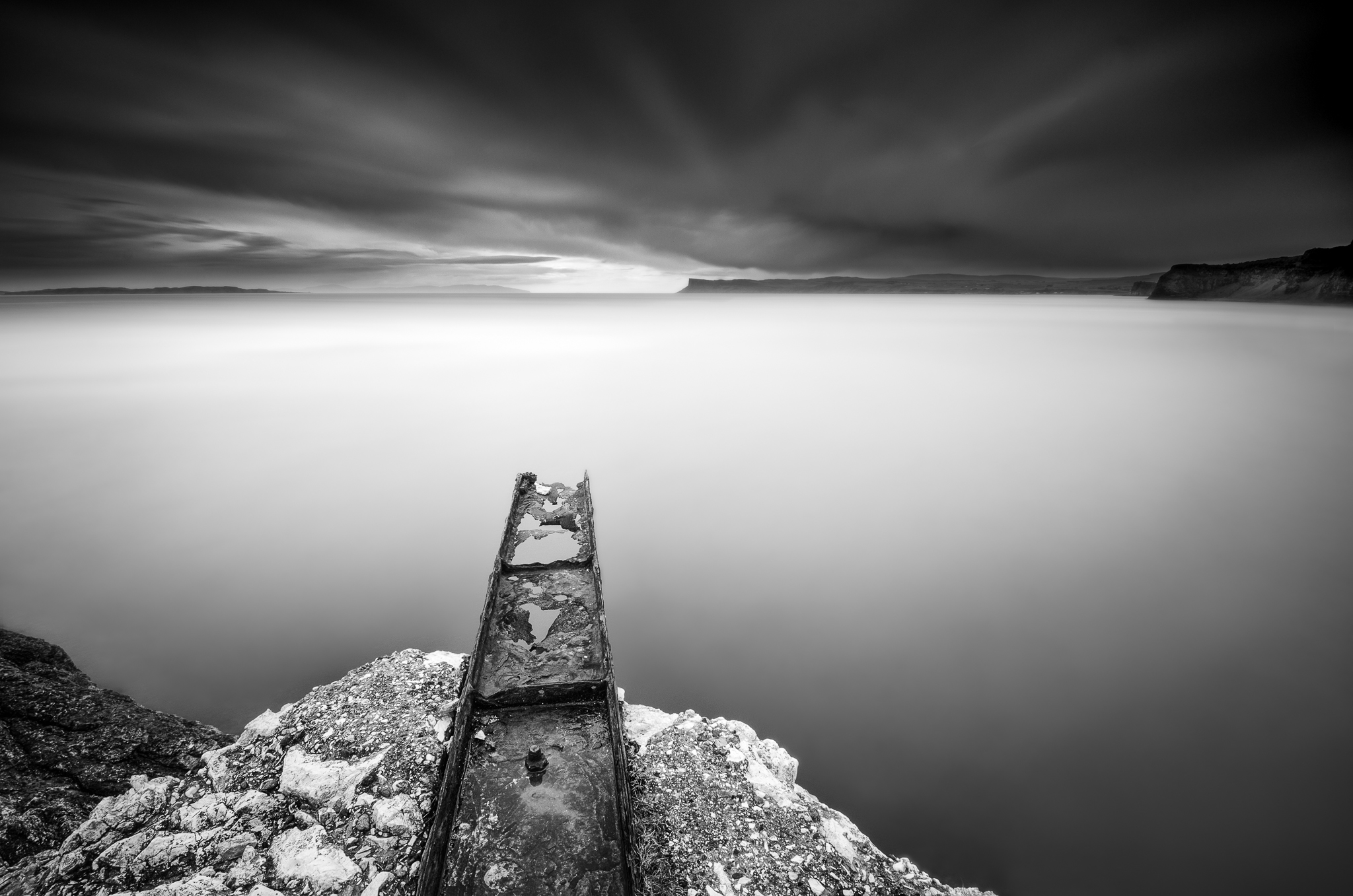 kinbane head long exposure photo tutorial