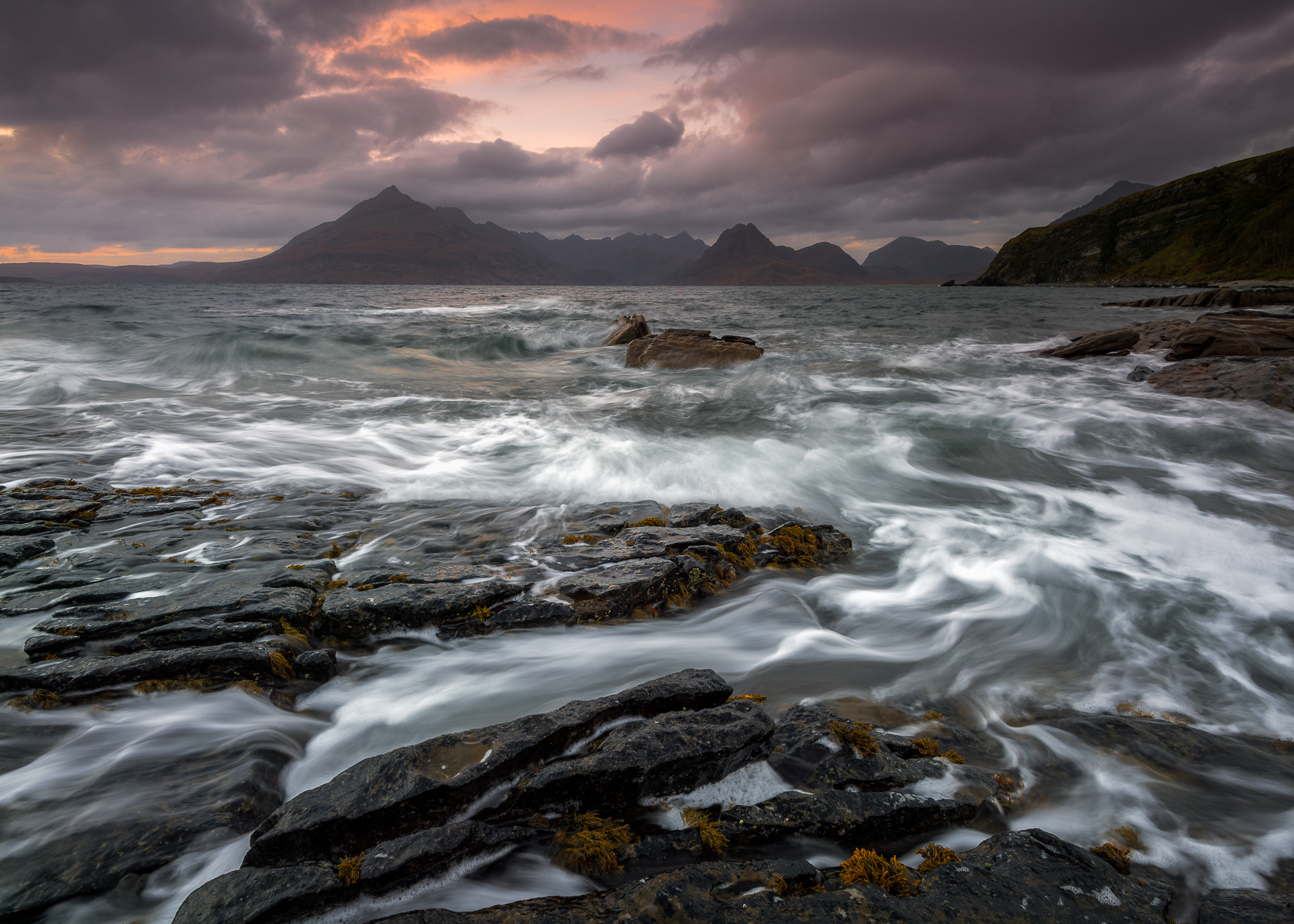 elgol beach seascape & landscape photography on the isle of skye