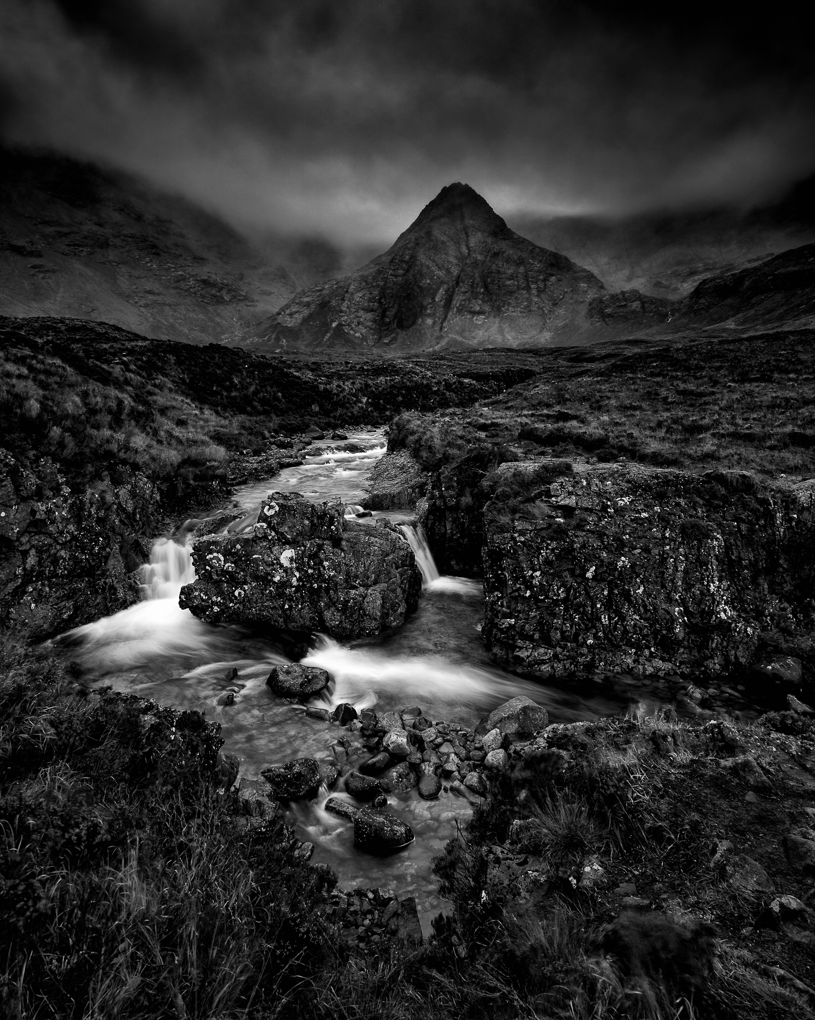 Fairy pools Skye Isle Scotland angel Adams